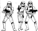 Imperial Stormtroopers by CrashyBandicoot