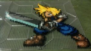 Cloud from Final Fantasy VII by hyliacupcake