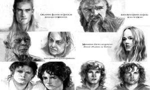 Cast of LOTR page 3 by BY-design
