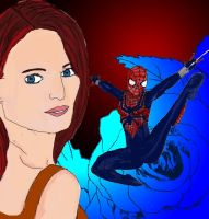 The Amazing Spider girl by Kamico