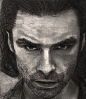 Aidan Turner as Mitchell in Being Human #1 by SHParsons