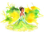 Tiana from Princess and the Frog by utenaxchan