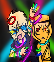 RAVE PARTAY~ by darkitty15