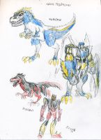 SG Predacon sketches by shatteredglasscomic
