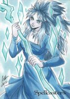 Spellcasters Sketch Card - Irma Ahmed 3 by Pernastudios