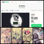 SCRIBBLES on KICKSTARTER, LESS THAN 24 HOURS!!! by TheGreyNinja