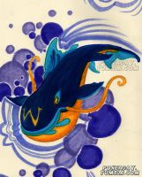 Whale by Pokeaday