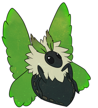 Leafy Moth by QueenSoulWing