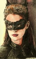 catwoman - selina kyle - anne hathaway by tengari