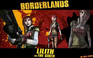 Borderlands Lilith by ben43000