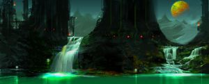Hydro Plant on Io by nelson808