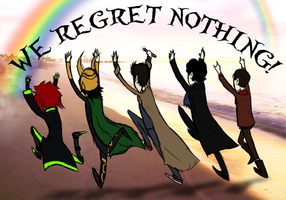 Regret Nothing! by Kiptay