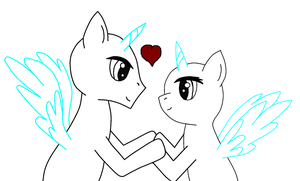 I love you Mlp base by JewelThePonyLover12