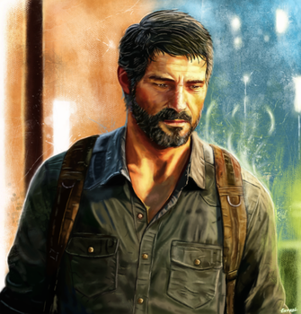 The Last of Us - Joel by p1xer
