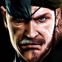''The Legendary Heroes'' Solid Snake and Big Boss by AndySkullCandy