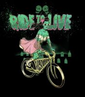 Ride to Live by paulorocker