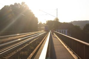 And so the freight train rides off into the sunset by ZCochrane