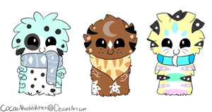 ScarfBlob Adopts 1 by CaramelCocoaAdopts