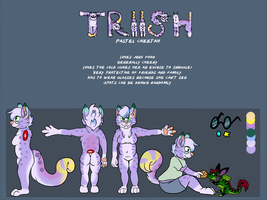 AT: Triish Reference Sheet by KingGigabyte