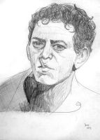 Lou Reed by breegeek