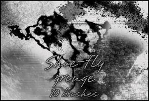 Grunge brush set by shoe-fly
