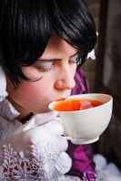 CG: Young Emperor's tea by cxalena