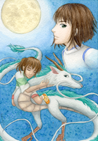 Spirited Away: Always with Me by Katsu-pon