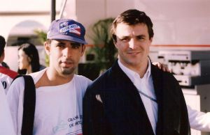 Mark Blundell, Paulo Marques, Estoril - 1995 by F1PAM