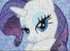 Rarity Mosaic by Lacon-te