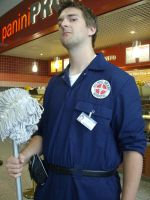 Janitor from Scrubs by lunamaxwell