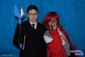 William and Grell Cosplay by EmoHimeChan