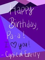 birthday wishes. by Abstract-Insidious