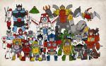 """Little"" Autobots by darrenrawlings"