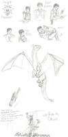 May 2012 Sketchdump by Kevari
