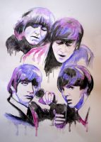 The Beatles by Mery-YC