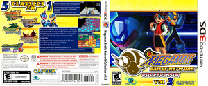 Boxart: Megaman Battle Network Collection vol. 3 by ShadowLifeman