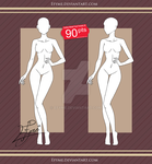 Clothes Model Front Female (4) by Efyme