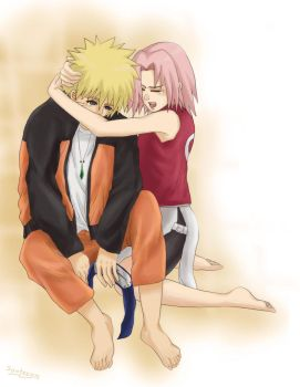 NaruSaku: The pain I know... by sonteen12
