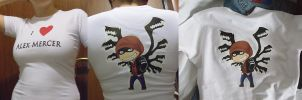my t-shirt by LinART