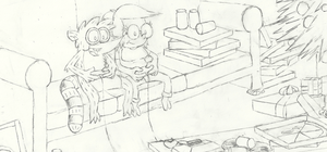 I'll Play the Love Sketch - Rigleen Contest Entry by SketchedJDII