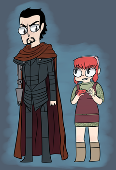 Nimona by SgtBaconberry
