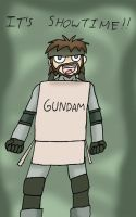 Solid Snake by jigglysama