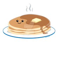 Pancakes by kimchikawaii