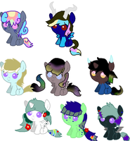 DARKNESS OF THE NIGHT'S FOALS by MephilesfanforSRB2