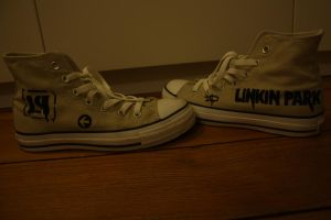 Linkin Park shoes by MinaFlow