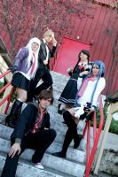 Dangan Ronpa - SHL Students by YumiAznable