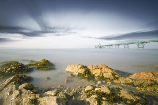 Clevedon Pier by XantheRowland