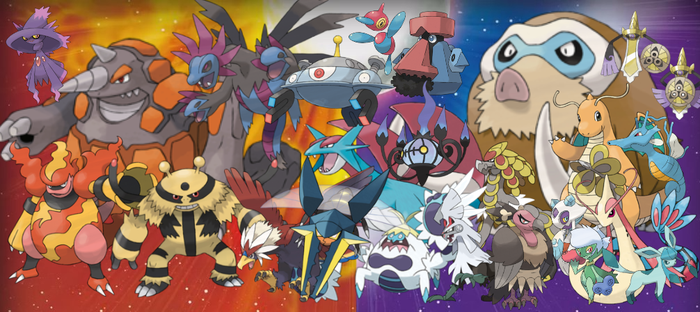 Pokemon Sun/Moon - Late-Game Evolutions by quintonshark8713