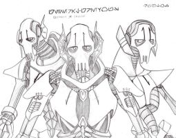 grievous sketch by rubtox