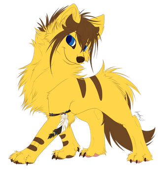 Niklaus Wolf - Flatcolor by Wings--Of--Freedom